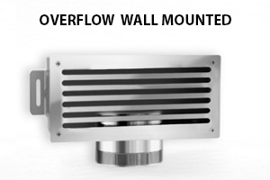 OVERFLOW WALL MOUNTED